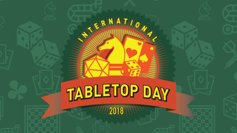 The logo of International TableTop Day 2018.