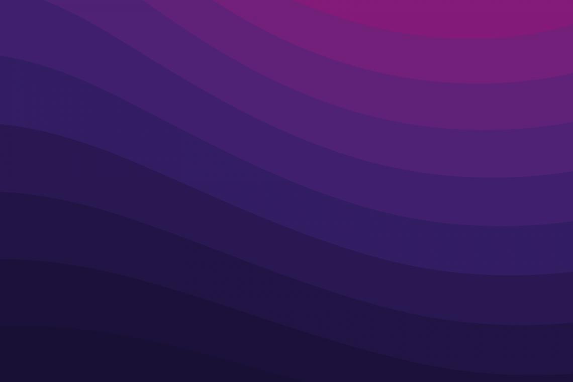 A wavy purple and pink pattern.